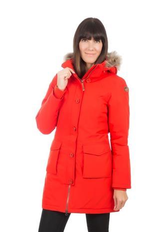 Icepeak Arcadia naisten talviparka, punainen 46