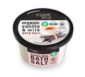 Kylpysuola Organic Shop Vanilla, 250 ml