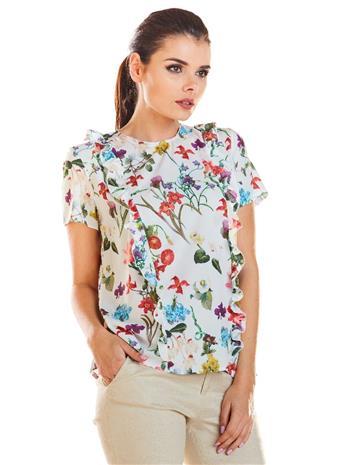 Naisten paita, luonnonvalkoinen, L (40)