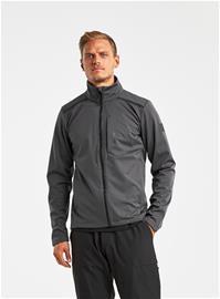 Didriksons BIRK miesten softshell takki, tummanharmaa M