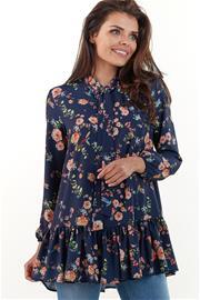Naisten paita, tummansininen, L/XL (40/42)