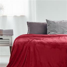 """MIC """"Decoking"""" -torkkupeitto, punainen 220 x 240 cm"""