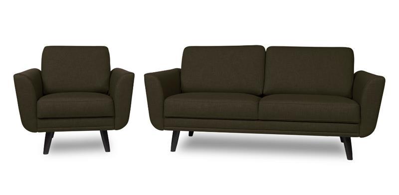 Happy sohva, kahden istuttava , antrasiitti