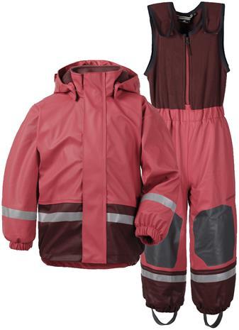 Didriksons Boardman lasten sadeasu, vuorillinen, vadelmanpunainen 100