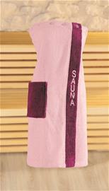 Naisten kietaisupyyhe 80 x 136 cm, vanharoosa
