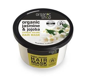 Hiusnaamio Organic Shop Indian Jasmine, 250 ml