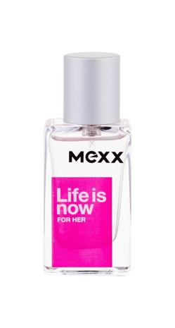 Mexx Life Is Now For Her EDT naiselle 15 ml