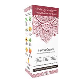 TINTS OF NATURE Henna Cream Dark Brown 70 ml