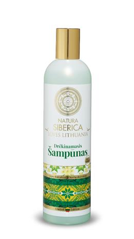 Natura Siberica Loves Lithuania kosteuttava shampoo 400 ml