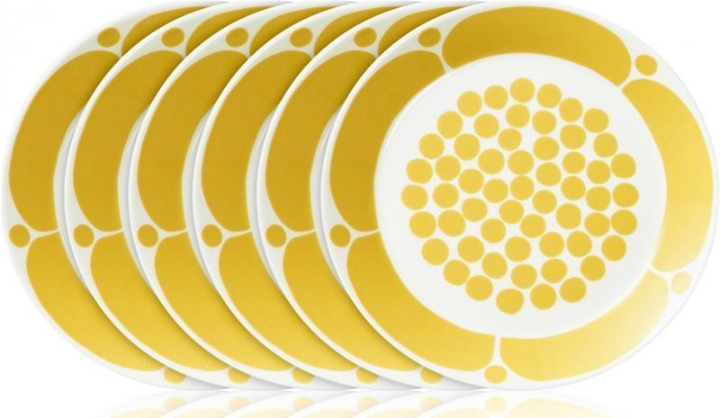 Arabia Sunnuntai, lautaset 21 cm, 6 kpl