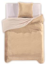 Teddy Cream -pussilakanasetti, 200 x 200 cm + 2 x tyynyliina 80 x 80 cm