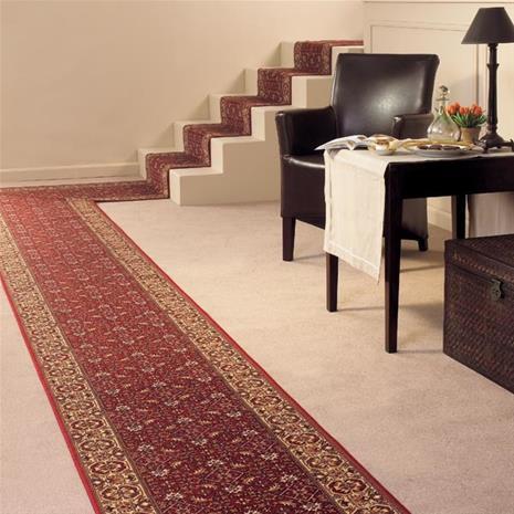 Käytävämatto Bidjar 10, punainen, 100 x 150 cm