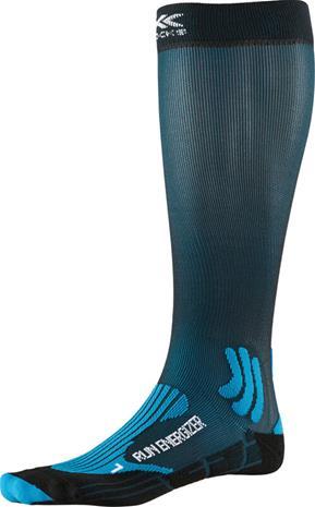 X-Socks Run Energizer Sukat, teal blue/opal black