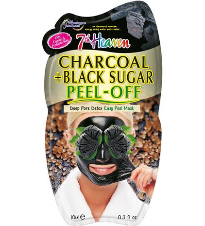 7th Heaven Charcoal & Black Sugar Peel-off Mask