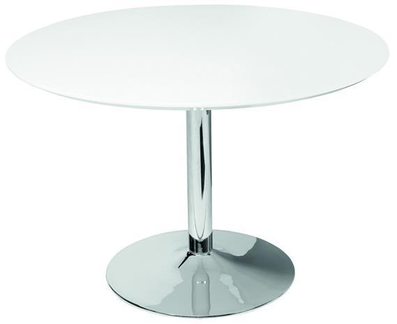 Borba pyöreä pöytä valkoinen