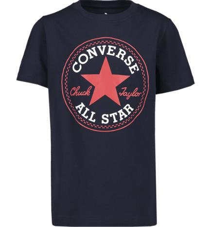 Converse J CORE CHUCK PATCH TEE OBSIDIAN/RED