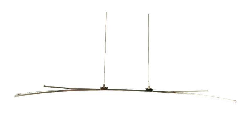 Aneta Svala-LED-kattovalaisin kromi