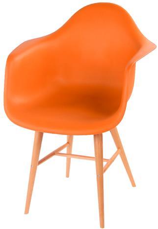 Borup-tuolit, 2 kpl, oranssi