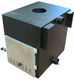 Kirami Cube, kylpytynnyrin ulkokamiina 35 kW