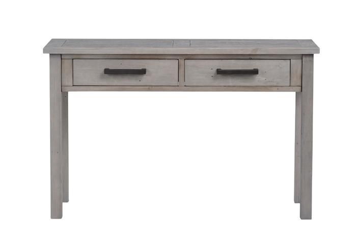 Furu-sivupöytä, harmaa