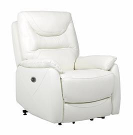 Houston recliner -tuoli, valkoinen