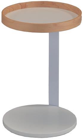 Halmstad-pikkupöytä, valkoinenluonnonväri
