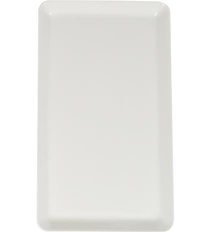 Koti tarjoilulautanen 20x35 cm valkoinen