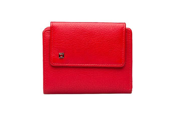 A. Eriksson Naisten nahkalompakko, RFID suojattu, punainen