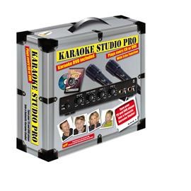 Karaoke Studio Pro, karaokelaite + 2 mikrofonia