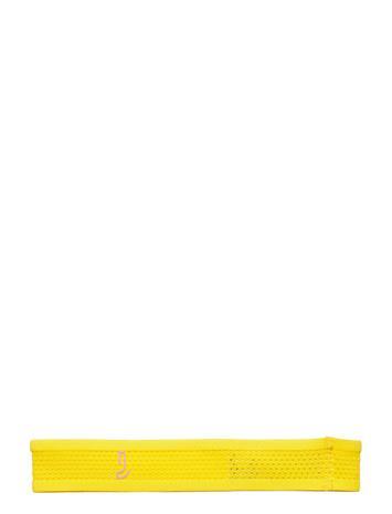Johaug Johaug Hairband Wide Hiustarvikkeet Keltainen Johaug BANAN