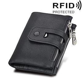 RFID Lompakko aitoa nahkaa vetoketjulla, NativitySets