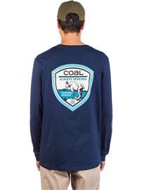Coal Wallowed Long Sleeve T-Shirt dress blues Miehet