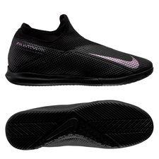 Nike Phantom Vision 2 Academy DF IC Kinetic Black - Musta