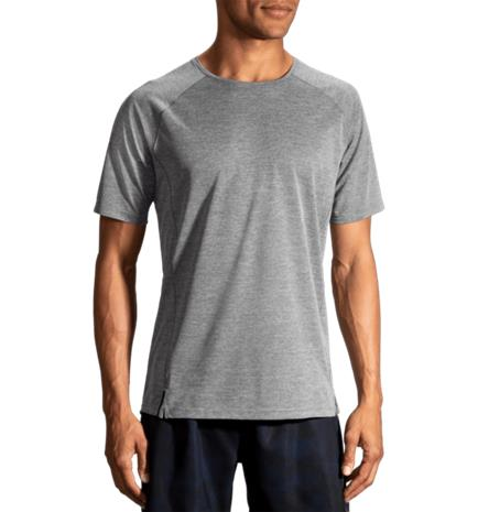 Brooks M GOST SHORT SLEEVE HEATHER ASPHALT