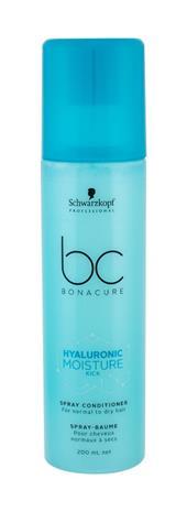 Schwarzkopf BC Bonacure Hyaluronic Moisture Kick Spray Conditioner hoitoaine naiselle 200 ml