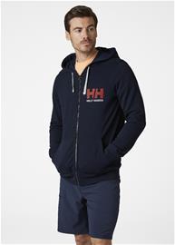 Helly Hansen HH Logo -miesten collegetakki, tummansininen XL