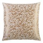 Tyyny GOLD & SILVER 50x50cm, kultaisen lehden motiivi, 50% puuvilla, 50% polyesteri, kangas-179