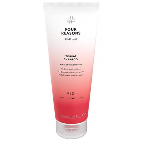 Four Reasons Color Mask Toning Shampoo Red (250ml)