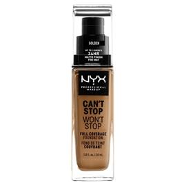 NYX Professional Makeup - Can't Stop Won't Stop Foundation - Golden