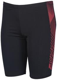 arena Feather Jammers Boys, black /fluo red, Miesten uimahousut