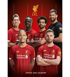 SC Liverpool 2020 Seinäkalenteri