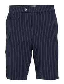 Les Deux Como Light Pinstripe Shorts Shorts Chinos Shorts Sininen Les Deux PROVINCIAL BLUE/GREY MELANGE