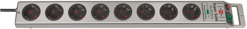 Brennenstuhl Super-Solid 13.500A 2,5m (1153340318), 8-os. jatkojohto