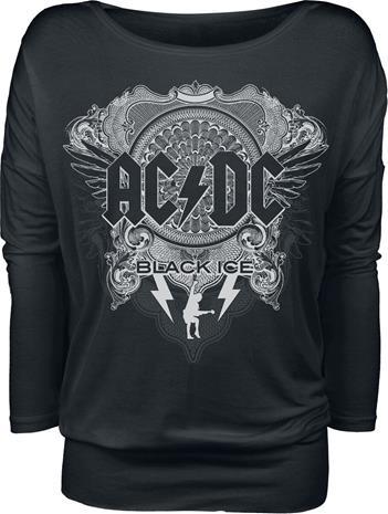 AC/DC - Black Ice - Pitkähihainen paita - Naiset - Musta
