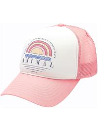 Animal Kailey Cap strawberry pink Naiset