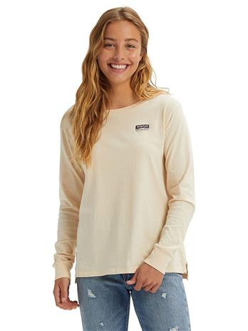Burton Classic Long Sleeve T-Shirt creme brulee Naiset