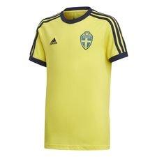 Ruotsi T-paita 3-Stripes - Keltainen Lapset