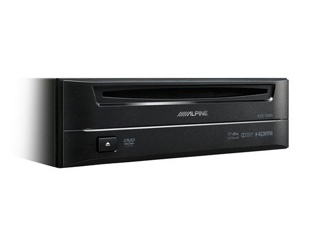 Alpine DVE-5300, autosoitin