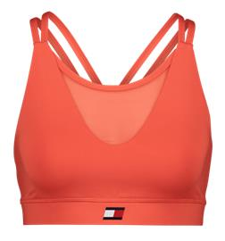 Tommy Sport W LOW SUPPORT REMOVABLE CUPS BRA BRIGHT VERMILLION