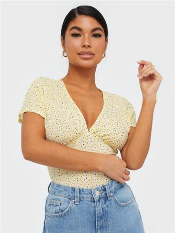 Only Onlpella S/S Aop Top Jrs